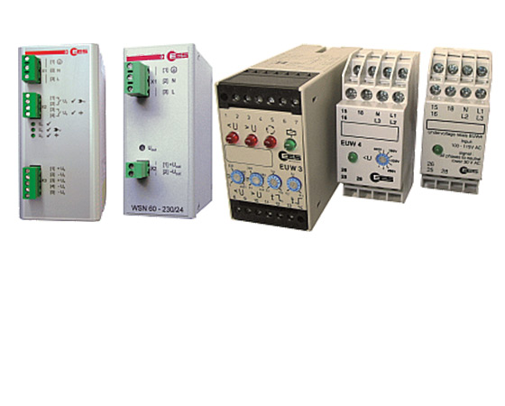 Monitoring Relais and Power Supplies