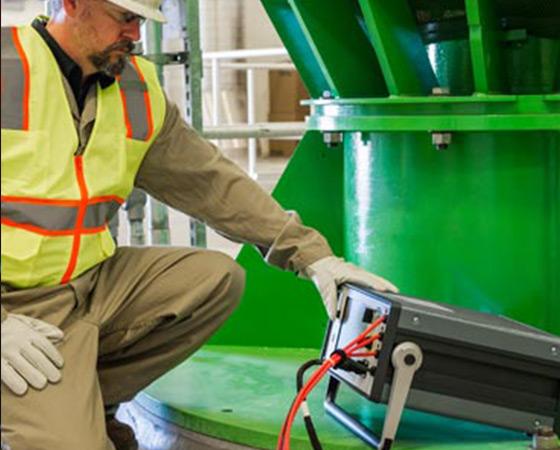Motor and generator testing