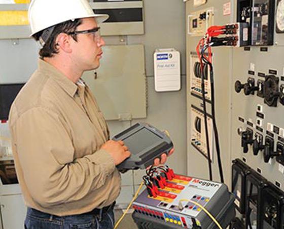 Multi-phase relay testing