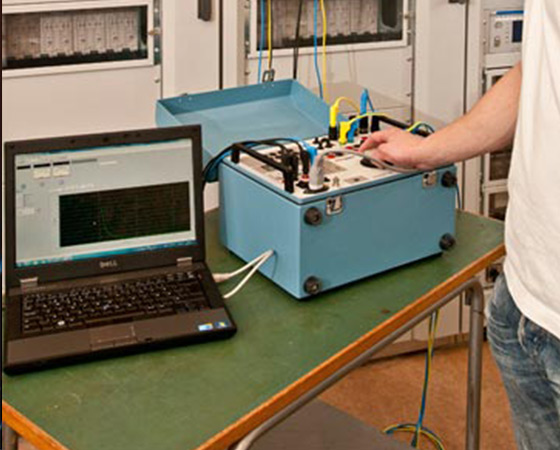 Single phase relay testing